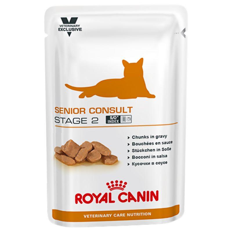 Royal Canin VCN Senior Consult Stage 2 zakjes kattenvoer