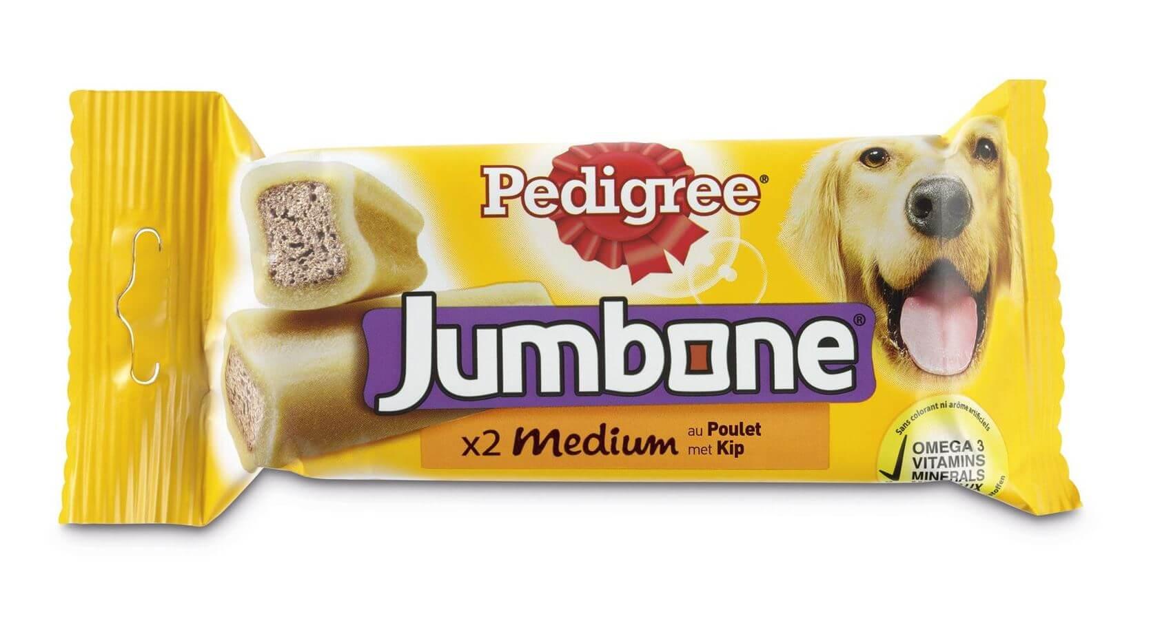 Pedigree Jumbone Medium Kip