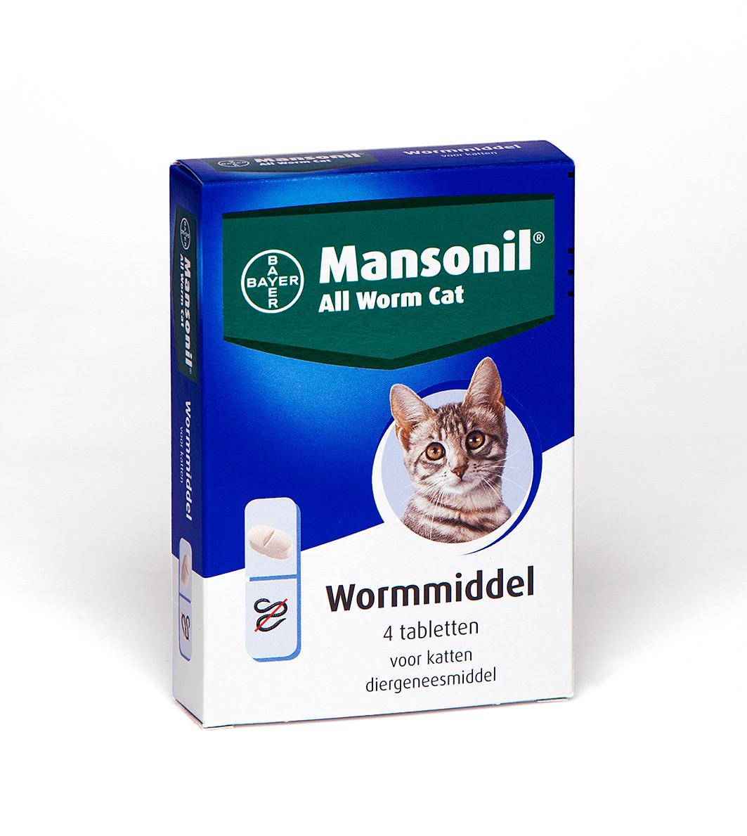 Mansonil All Worm Cat voor de kat