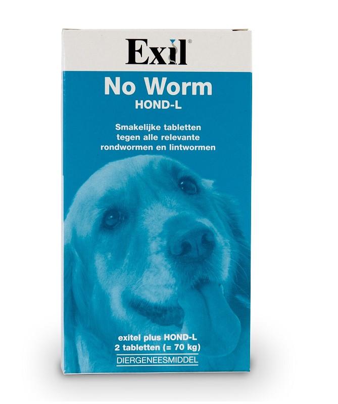 Exil No Worm Hond L/XL