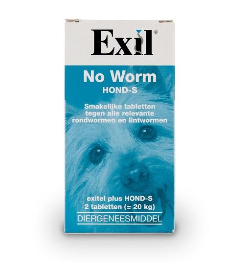 Exil No Worm Pro Hond S OP is OP