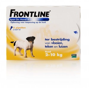 Frontline 4 pipet hond spot on small