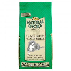 Nutro Choice Adult largebreed Lam & Rijst hondenvoer