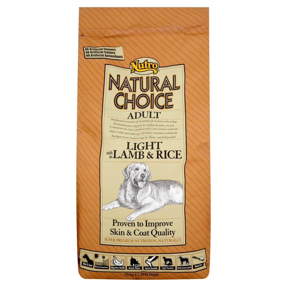 Nutro Choice Light Lam & Rijst hondenvoer