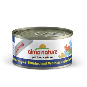 Almo nature cat tonijn-schelpdier