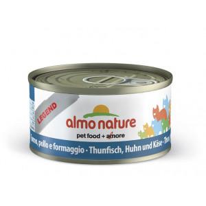 Almo Nature Natural met Tonijn, Kip en Kaas 70 gr