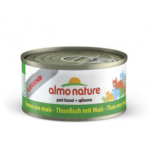 Almo Nature Natural Tonijn met Mais 70 gr