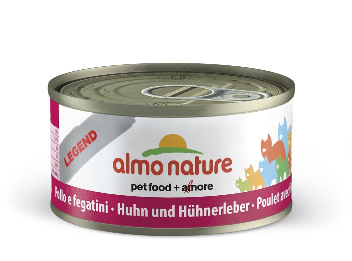Almo Nature Natural Kip en Lever 70 gram