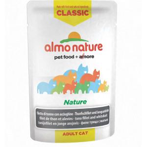 Almo Nature Classic Nature Tonijn & Jonge Ansjovis 55 gram (5806) Per 24