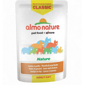 Almo Nature Classic Nature Tonijn & Kip 55 gr Per 24