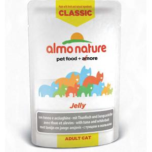 Almo Nature Classic Jelly Tonijn en Sardientjes 24x55g
