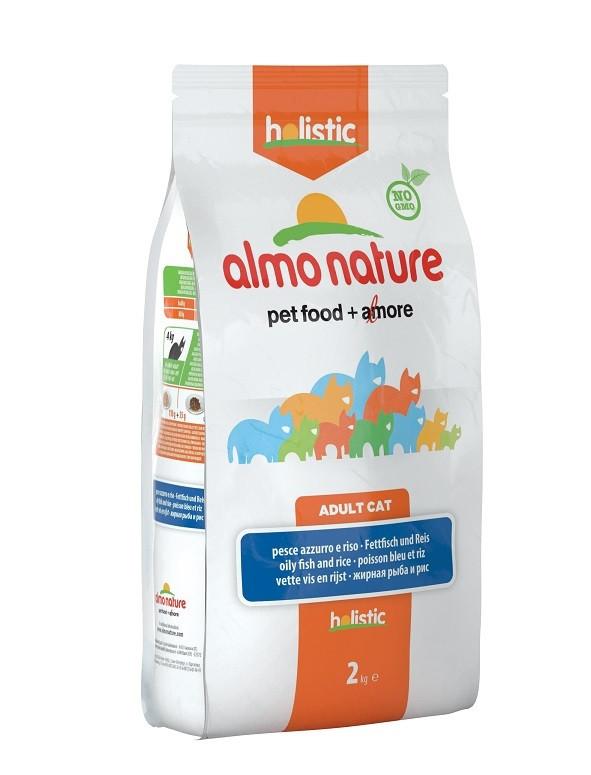 Almo Nature Holistic Adult Vette Vis kattenvoer