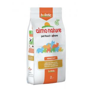 Almo Nature Holistic Adult Kip en Rijst kattenvoer 3 x 2 kg Almo Nature laagste prijs