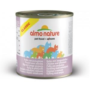 Almo Nature Classic Kip en Jonge Sardienen 280 gram (5151) Per stuk