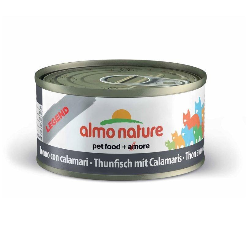 Almo Nature Tonijn met Inktvis 70 gr