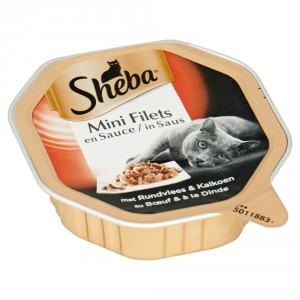 Sheba Selection Rund en Kalkoen in Saus