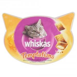 Whiskas Temptations Kip & Kaas kattensnoep