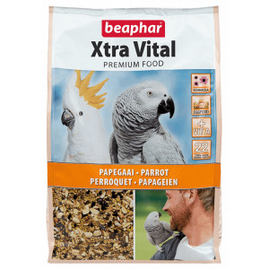 Beaphar Xtra Vital Papegaaienvoer 25 kg