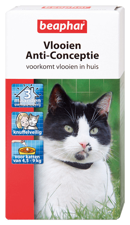Beaphar Vlooien Anti-Conceptie (4,5 tot 9 kg) kat