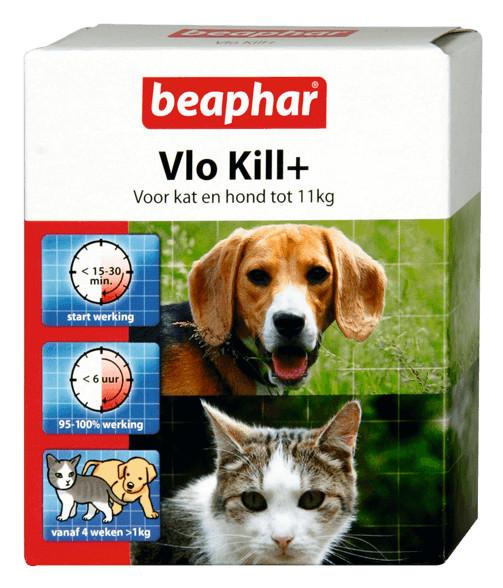 Beaphar Vlo Kill (tot 11 kg) kat en hond