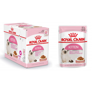 Kattenvoer Royal Canin Royal Canin Royal Canin Pouch Kitten kattenvoer 8 x In Saus