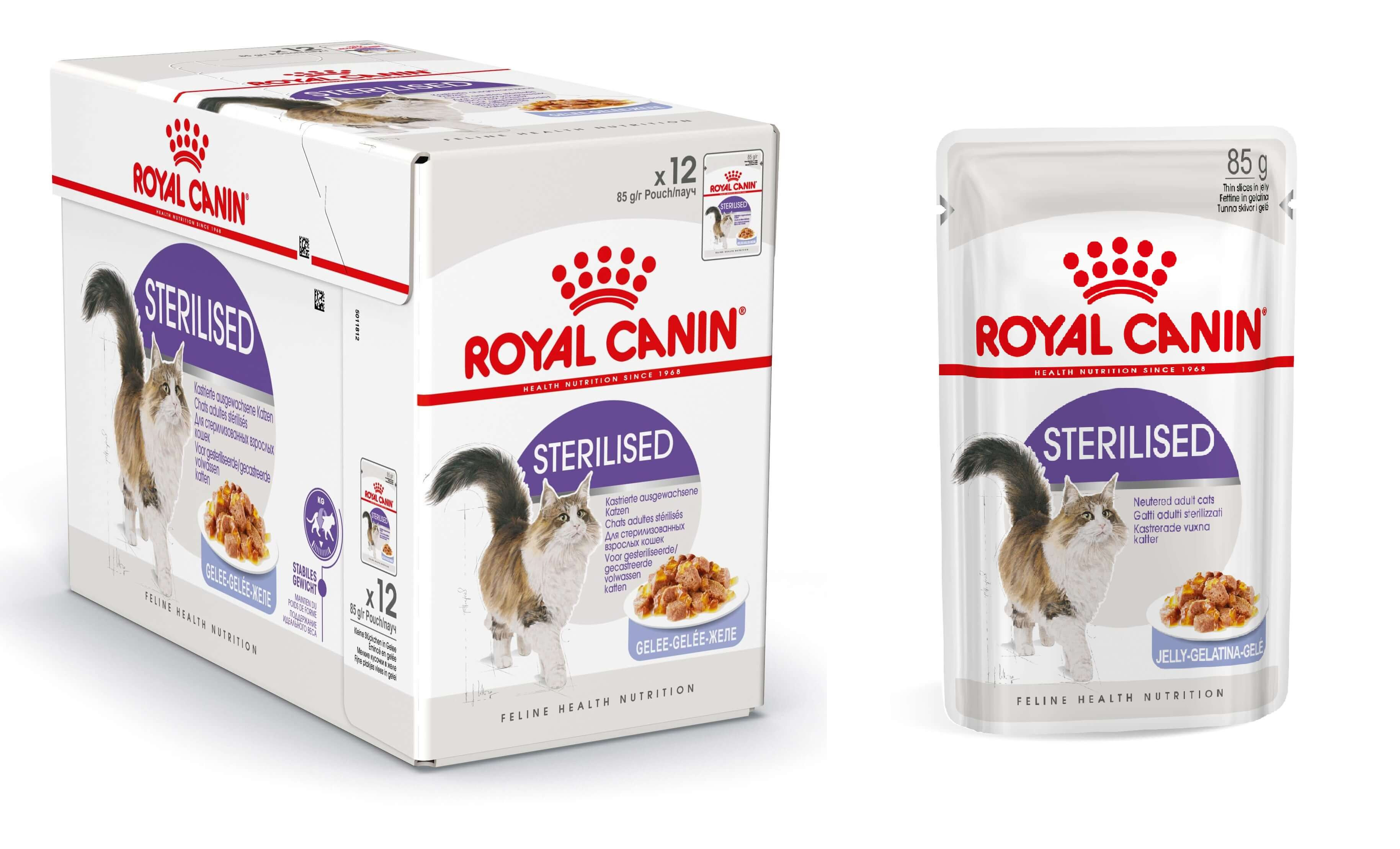 Royal Canin Pouch Sterilised kattenvoer