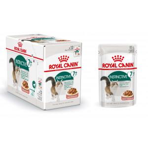 Royal Canin Instinctive 7+ kattenvoer in gravy 12 zakjes