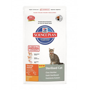 Hill's Sterilised Adult Kattenvoer 2 x (8 + 2 kg)