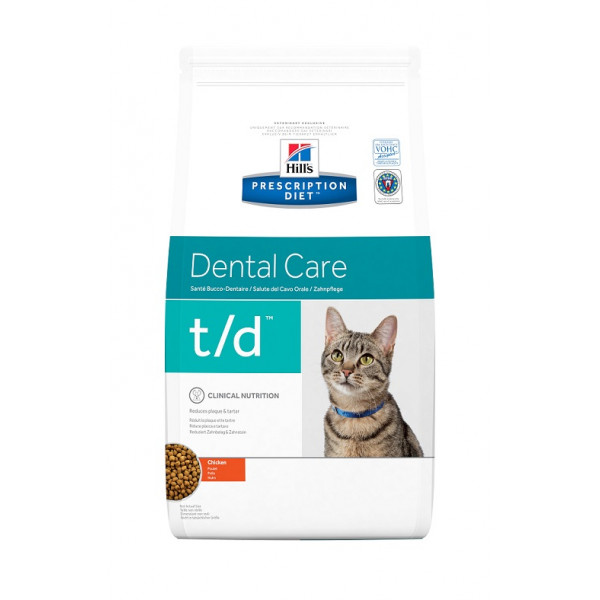 Hills Feline Katze Prescription Diet t/d 8606m
