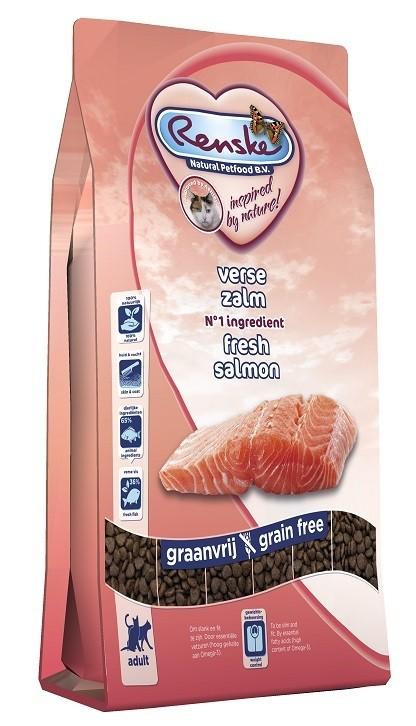 Renske Super Premium Adult Verse Zalm kattenvoer