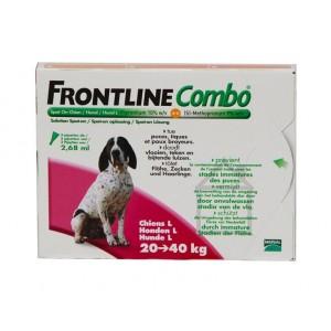 Frontline Combo Spot-On Hond L