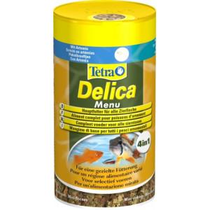Vis Vissenvoer Tetra Tetra Delica Menu tropische vissenvoer 100 ml