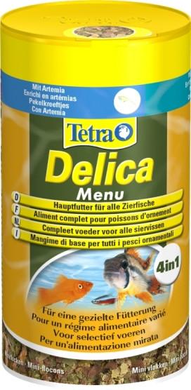 Tetra Delica Menu tropische vissenvoer