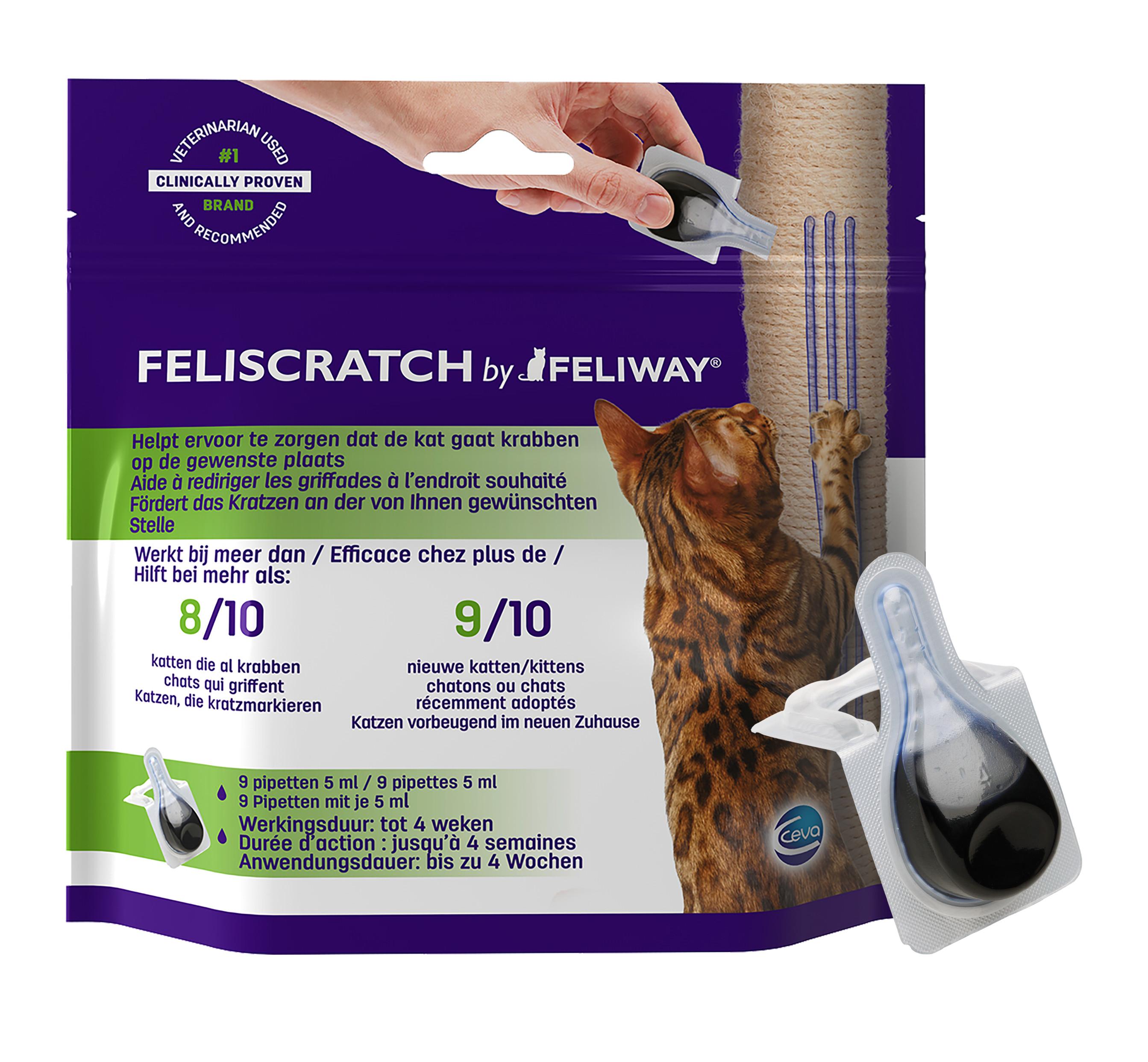 Feliway Feliscratch voor katten
