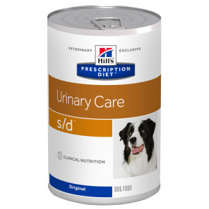 Hill's Prescription Diet S/D Urinary Care nat hondenvoer 370g blik