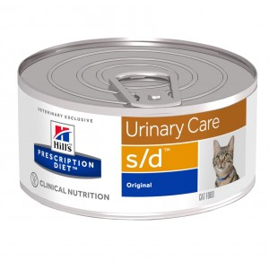 Hill's Prescription Diet S/D 156 gr blik kattenvoer