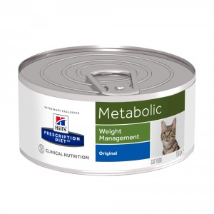 Hill's Prescription Diet Metabolic 156 gr blik kattenvoer 1 tray (24 blikken)