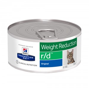 Hill's Prescription Diet R/D blik 156 gr kattenvoer 1 tray (24 blikken)
