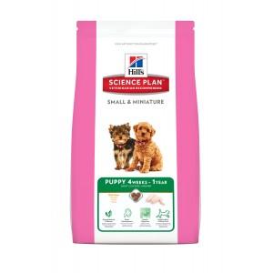 Hill's Puppy Small & Miniature kip hondenvoer 3 x 1,5 kg