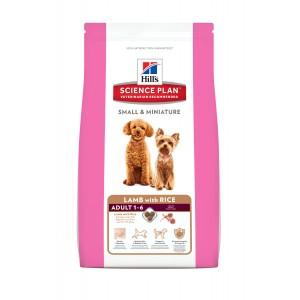 Hill's Adult Small & Miniature Lam & Rijst hondenvoer 2 x 1.5 kg