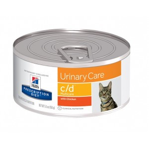 Hill's Prescription Diet C/D 156 gr blik kattenvoer