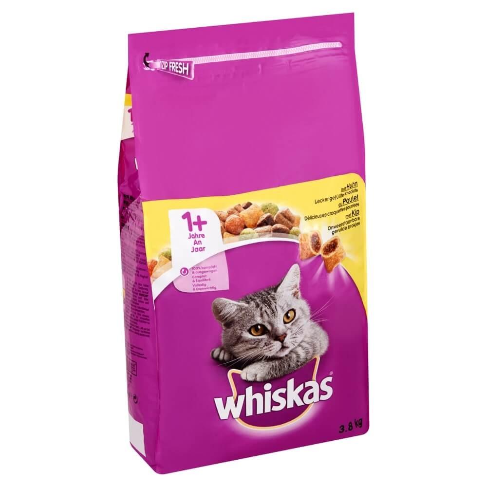 Whiskas Brokjes +1 Kip kattenvoer