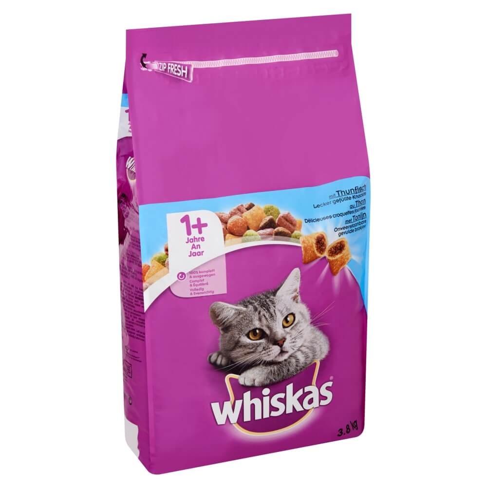 Whiskas Brokjes +1 Tonijn kattenvoer