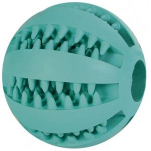 Denta Fun Rubber Baseball voor honden 5 cm