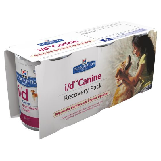 Hill's Prescription I/D (i/d) Recovery Pack hond (3 x 360 g)