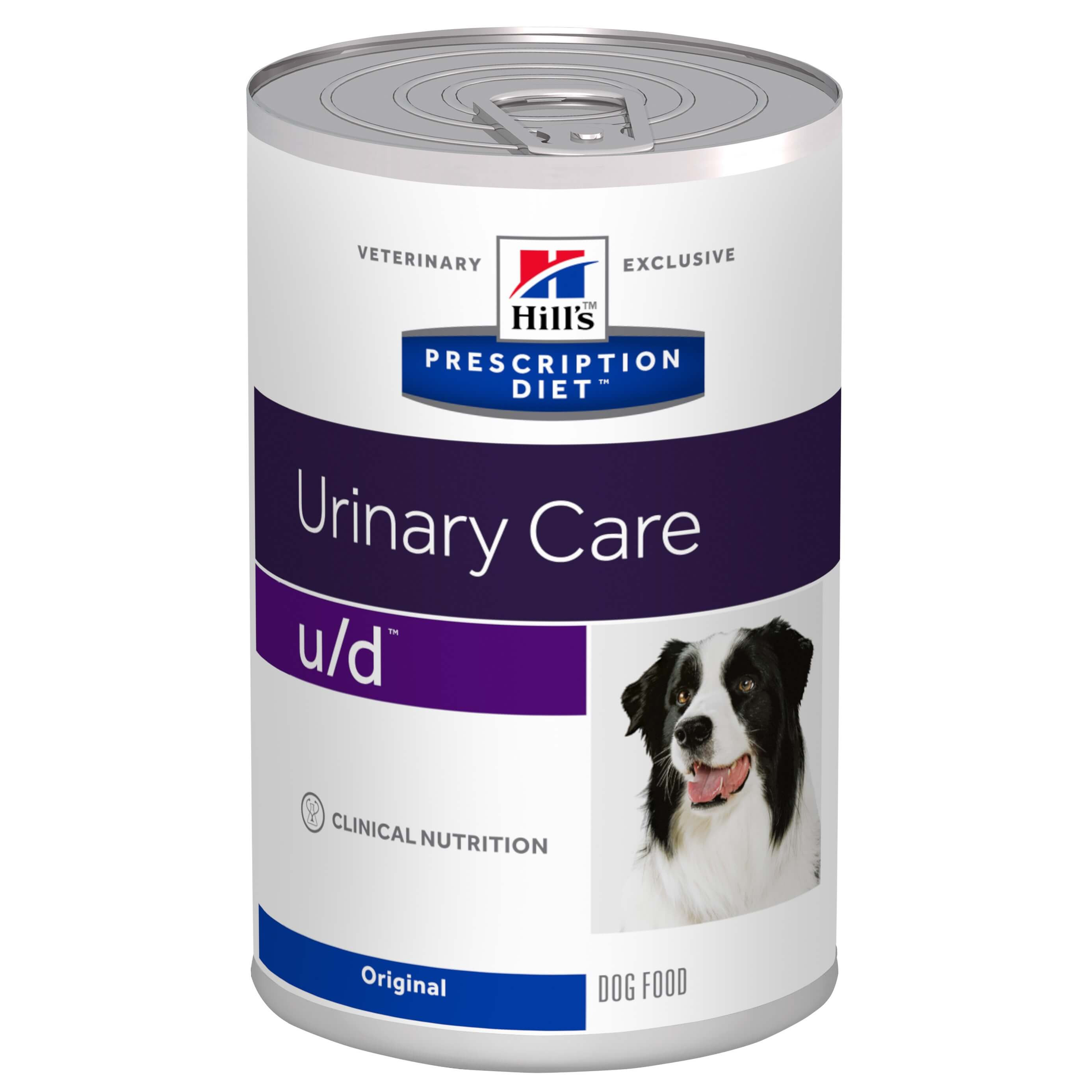 Hill's Prescription U/D Urinary Care blik 370 gr hondenvoer