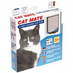 Cat Mate kattenluik 309 Bruin