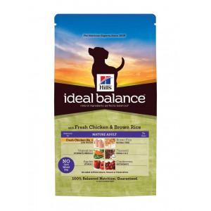 Hill's Ideal Balance Mature Adult 7+ Medium Kip & Rijst hond 2 x 2 kg