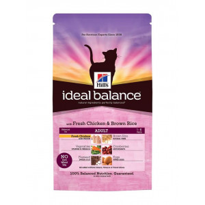 Hill's Ideal Balance Adult Chicken & Brown Rice Kattenvoer 4 kg
