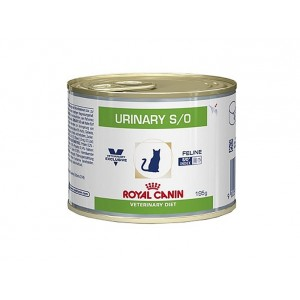 Royal Canin Veterinary Diet Urinary S O 195 gr blik kattenvoer 4 trays (48 blikken) Royal Canin